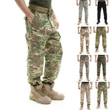 Airsoft Army Military Men Tactical Pants Combat Cargo Trousers Camouflage Casual