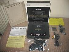 HITACHI HI SATURN MMP-1 CONSOLE IMPORT JAP + VIDEO CD CARD HITACHI
