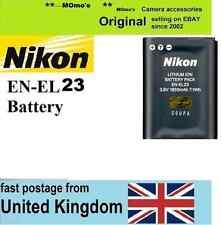 Genuine originale NIKON EN-EL23 BATTERIA CoolPix P600 P610 P900 S810c