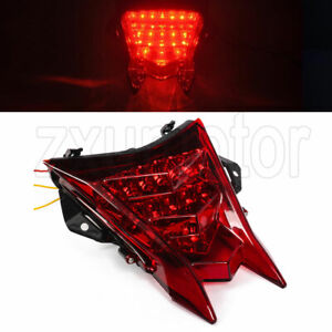 LED Taillight Brake Turn Signal For BMW S1000RR 09-18 HP4 12-14 S1000R 14-18 Red