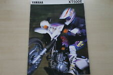 168449) Yamaha XT 500 E - Österreich - Prospekt 1995