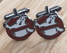 Ghostbusters Movie Film  Cufflinks vintage 1980 s style Christmas gift present