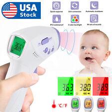 USA Infrared Thermometer LCD Non-contact Temperature Gun Digital IR Temp Meter