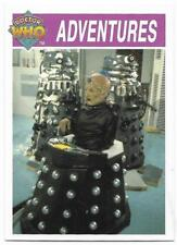 1995 Cornerstone DR WHO Base Card (160) Adventures