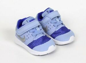 Nike Downshifter 7 Blue Infant Baby Girls Sneakers Shoes Size 2