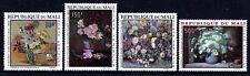 Flowers - Mali 1968 Flower Paintings set fine fresh MNH