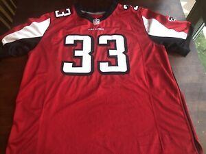 Michael Turner#33 - Atlanta Falcons Jersey Nike NFL On Field Red SZ 52