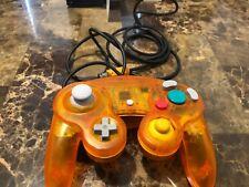 Custom Clear Orange  Gamecube Controller