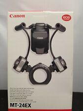 Canon MT-24EX Macro Twin Lite Flash Open Box  A-3