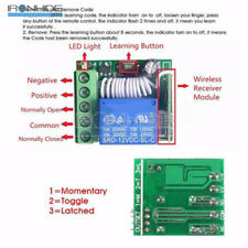 DC 12V10A 1Channel 433MHZ Relay DC Wireless RF Remote Control Switch Receiver
