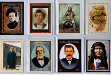 Lot of 8 outlaws lawmen indians & gunfighters Superior Legends of the West