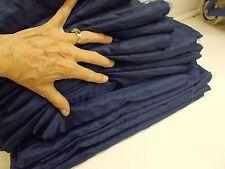 """KW-1 73.5 ish Yards  45"""" Navy Poly silk ? Draping Wedding Decor"""