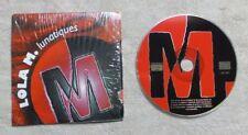 "CD AUDIO MUSIQUE / LOLA M. ""LUNATIQUES "" CDS PROMO 1999 LOL 007"