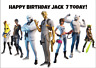 PERSONALISED A5 FORTNITE INSPIRED BIRTHDAY CARD FREE P&P