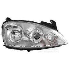 VAN WEZEL 3779988 principaux phares droit pour Opel Corsa C Combo Tour