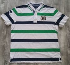 Tommy Hilfiger Striped Rugby Polo Shirt size XL
