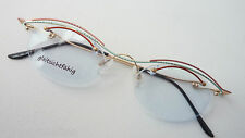 Frameless Spectacles For Women Down Without Edge Light Elegant Pretty Coloured M
