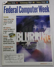 Federal Computer Week Magazine Blurring The Lines Patents November 2000 071415R