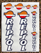 REPSOL Motorbike Motorcycle Fork Decals Stickers