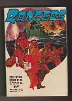 RANGERS. Album relié n°35 - n°121 à 124 - IMPERIA 1976