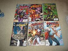 AWESOME LOT OF 6 RARE VILLIAN NEWSTAND EDITION COMIC DC's NEW 52 !!!
