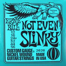 Ernie Ball 2626 Not Even Slinky Nickel Wound Guitar Strings 12-56