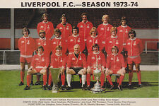 LIVERPOOL FOOTBALL TEAM PHOTO>1973-74 SEASON