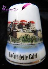 Dé à coudre Thimble Monument LA CITADELLE DE CALVI #K18