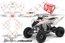 ATV Decal Graphic Kit Quad Sticker Wrap For Yamaha Raptor 700 2006-2012 SSR R W
