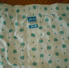 Lote 12 BOXER HOMBRE Talla M ALGODON 100% mediana underwear man lenceria mod. 13