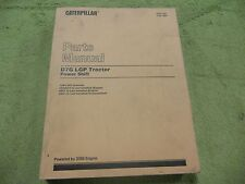 Caterpillar D7G LGP 72W1- CAT Tractors Part Manual Service Book