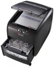 Rexel Aktenvernichter Auto+ 60X, Partikel 4 x 45 mm, schwarz