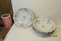 "SET OF 4 JOHANN HAVILAND BLUE GARLAND  PATTERN 5 1/8"" FRUIT/DESSERT BOWL BAVARIA"