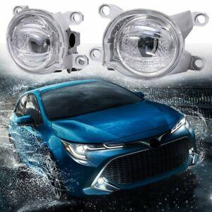 For Toyota Corolla 2020 2021 LED Front Bumper Fog Light Daytime Running Light