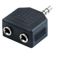 Adaptateur Audio stéréo 2 Connecteur Jack femelle 2.5 mm vers jack mâle 3.5 mm