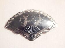 Vintage Jewellery - Sterling Silver Siam Brooch - Deceased Estate