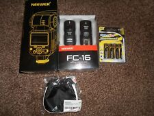 NEEWER SPEEDLITE NW670C FLASH FOR CANON CAMERA & FC-16 KIT