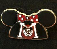 💗 Exclusive Minnie Mouse Mouseketeer Headband Pin Disneyland Resort Mickey Ears