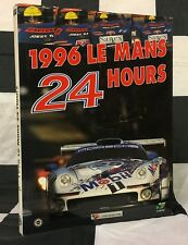 1996 LE MANS 24 HOURS OFFICIAL YEARBOOK ANNUAL SIGNED ENGLISH TWR WSC95 PORSCHE