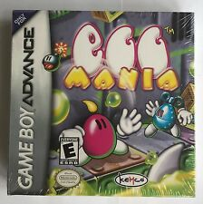 GBA Egg Mania (2002), Brand New & Factory Sealed