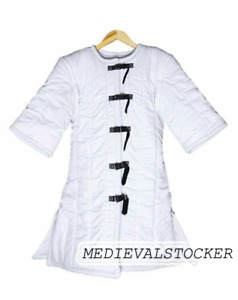 Gambeson Birthday Gift Medieval Thick Medieval gambeson Padded collar