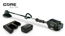 CORE E400 ELITE STRING TRIMMER Gasless Weedwhip 1-Battery 45-Minute Dual Charger