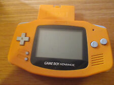 Game Boy Advance Orange ~~ Console Avec cache Piles JAP