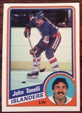 1984-85 JOHN TONELLI O-PEE-CHEE #138 ISLANDERS