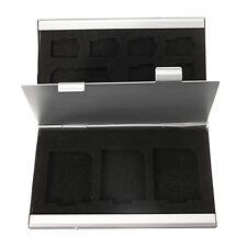 12SD Aluminium Micro Speicherkarte Box Fuer TF SD MMC GY