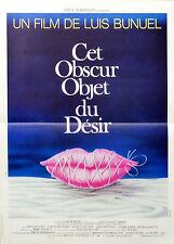 Affiche 40x60cm CET OBSCUR OBJET DU DÉSIR 1977 Luis Buñuel - Carole Bouquet EC