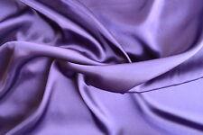 Purple Satin Charmeuse