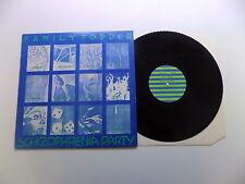 Lp Family Fodder ScHiZoPhReNiA pArTy ! Fresh Records 1981 UK FRESH 37/12