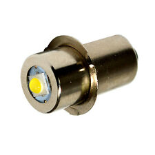 High Power 100LM 7V-30V DC P13.5s Base 3W LED Bulb for Flashlights & Power Tools