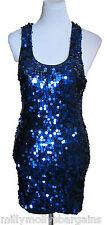 New Womens Blue NEXT Signature Party Dress Size 8